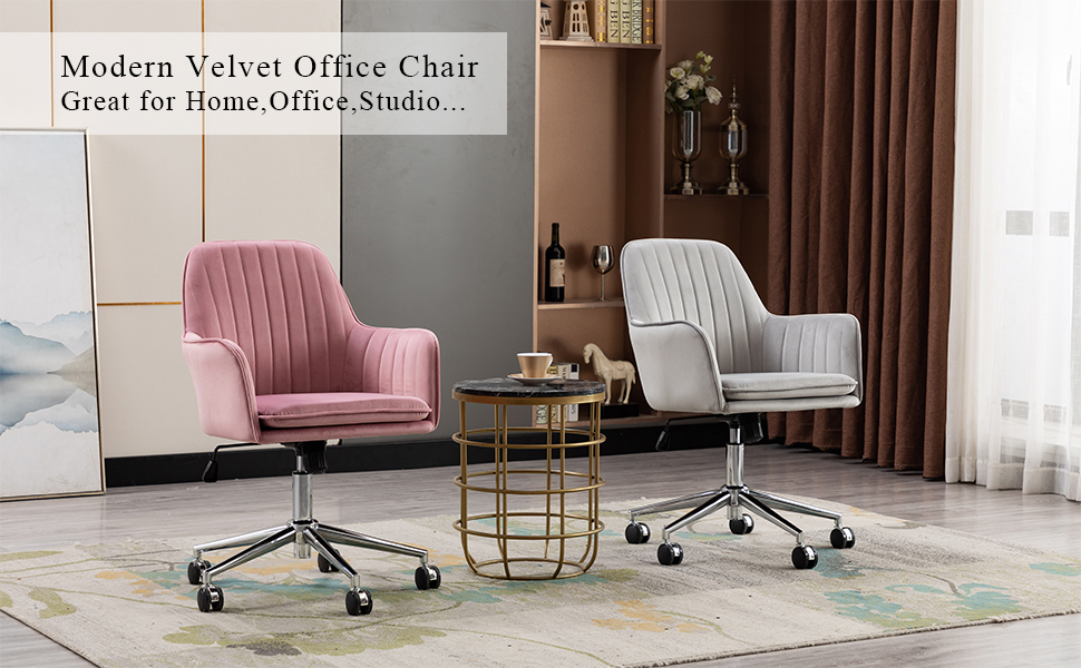 Pink Home Office Chair