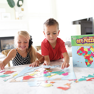 Amazon.com: GeoToys — GeoPuzzle Africa and the Middle East ...