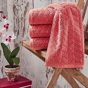 bagno milano 4 pcs face towel