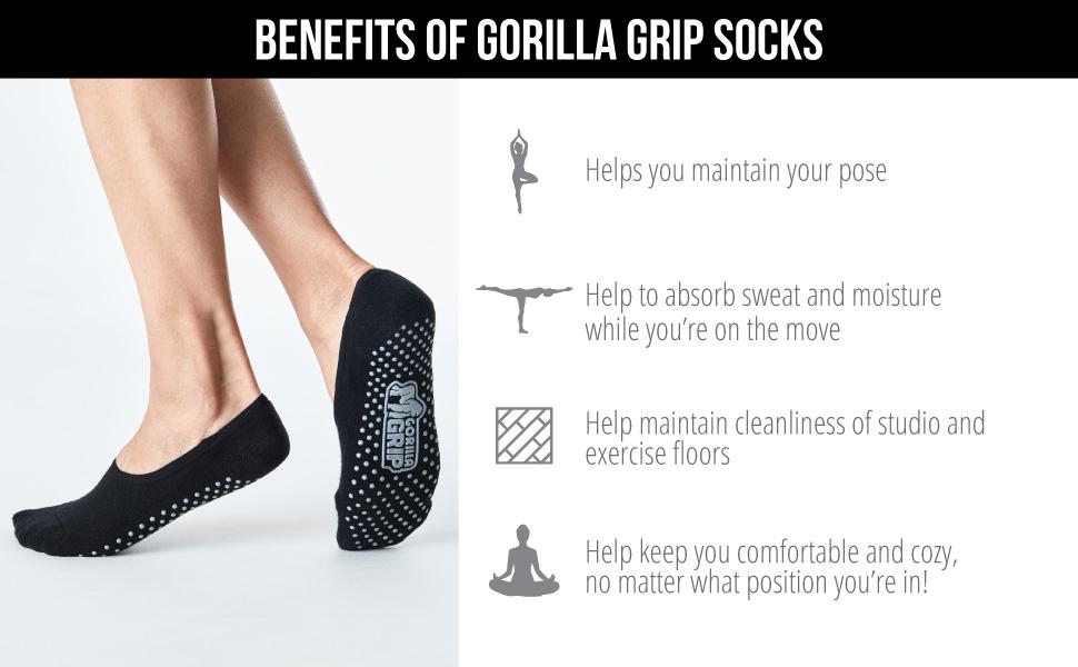 benefits of yoga socks