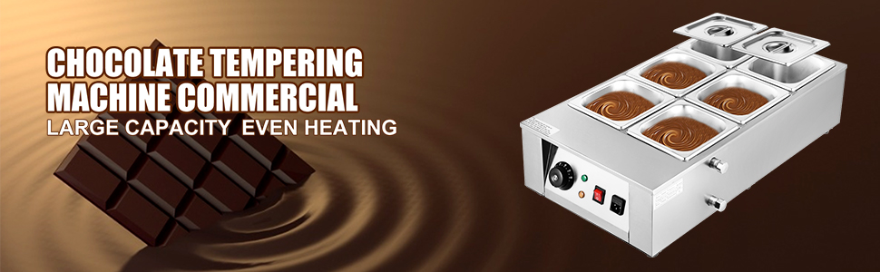 chocolate tempering machine commercial