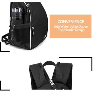 outdoor backpack pickleball bags for women sling bags for women crossbody outdoor pickleball balls
