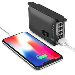 QC3.0 USB Fast Charging Station