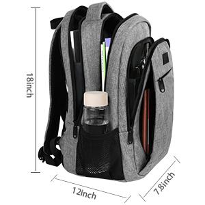 school bag backpack rucksack travel laptop backpack 15.6 with usb charging port