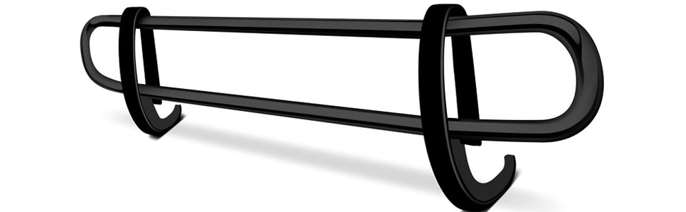Black Horse Off Road Double Tube Rear Bumper Guard Features