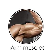 strength training machine arm power twister bar