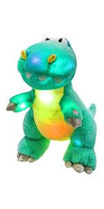 Glowing dinasaur