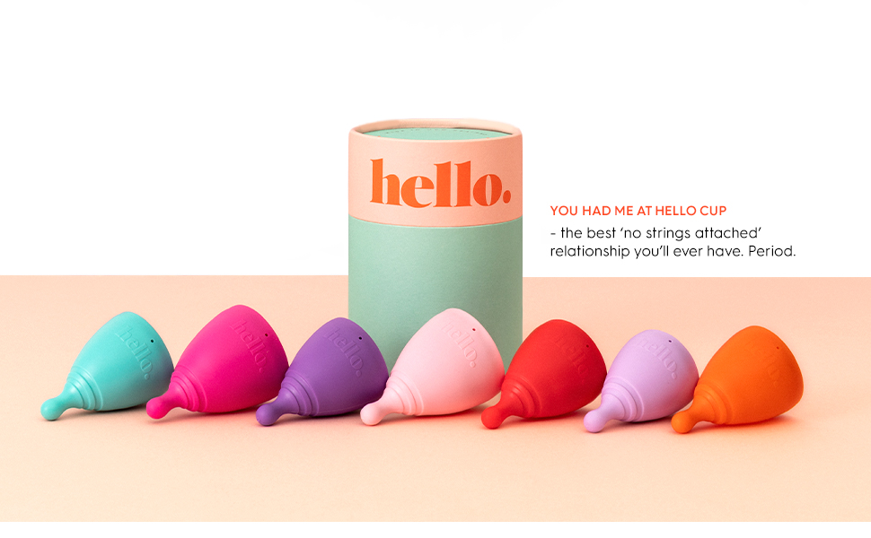 You had me at Hello Cup - the best 'no stings attached' relationship you'll ever have. Period.