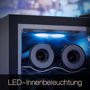 Iluminación interior LED.