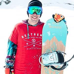 Bextreme Pack Tabla Snowboard Freestyle Diamond 2019 con ...