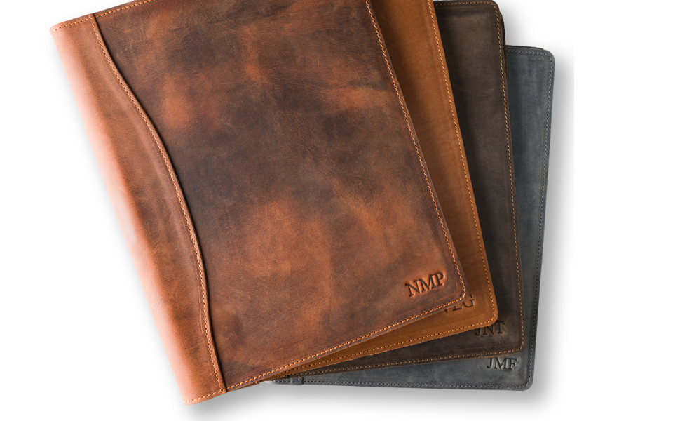 Personalized Leather Padfolio