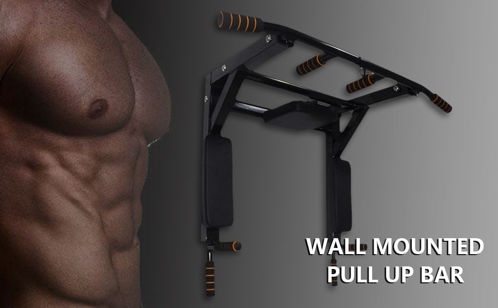 Multifunctional Wall Mounted Pull Up Bar
