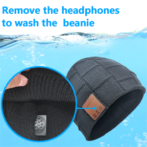 bluetooth hat for men with headphones