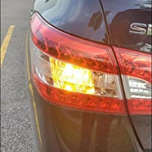 LED turn signal light bulb