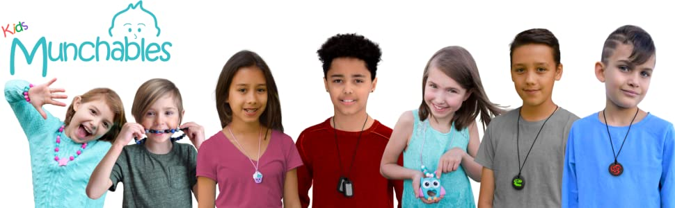 Kids Sensory Chew Necklace