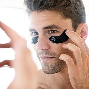 Blu42 skin care eye masks eye cream face masks wrinkles hydrating activated charcoal kiehls
