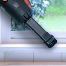 MHM's Mini Vacuum for your Window Trims