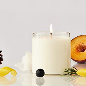 soy candle long burning candle refill natural wax hand poured made in USA clean burning