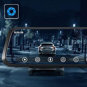 Dash Cam With Super Night Vision