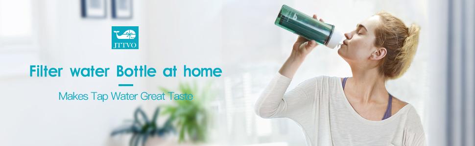 filter water bottles make home tap water taste great