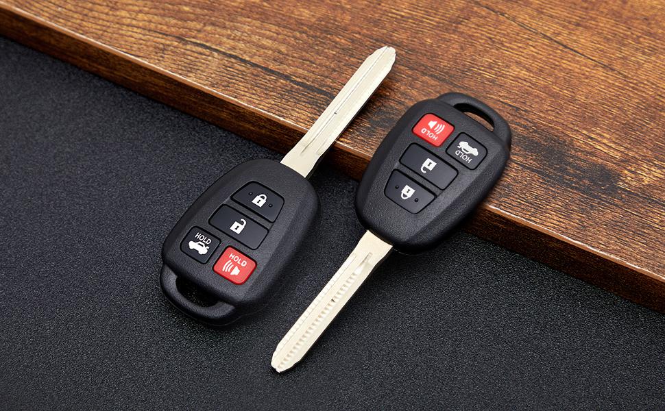 Toyota Camry Scion Keyless Entry Remote Key Fob Case