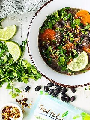black lentil, food to live