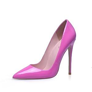 Hot Pink stilleto heels for women