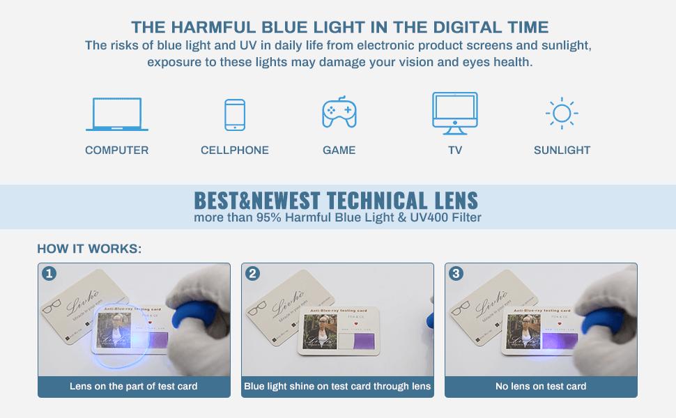 blue light blocking glasses blue light glasses computer glasses for men women clear lens