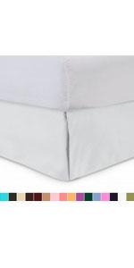 tailored bedskirt
