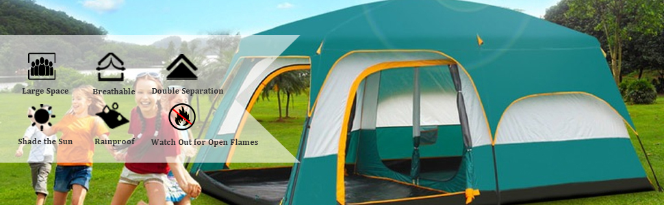 huge tents for camping cabin tents for camping 6 person tent 4 person waterproof family size tent