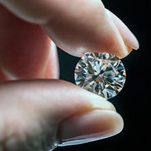carefully selected diamonds