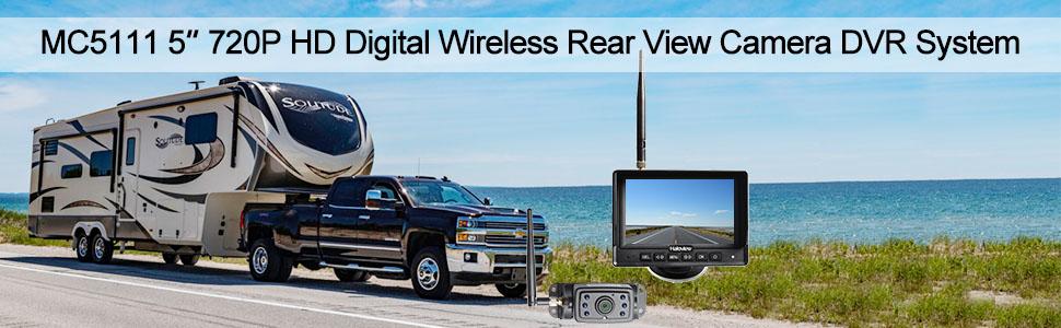 Haloview MC5111 720P HD wireless backup camera system with DVR