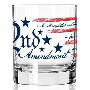 2ND AMENDMENT ROCK GLASSES