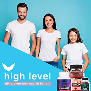 high level for all family health nutrition wellness organic supplements diet pills apple cider