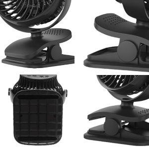 stroller clip fan