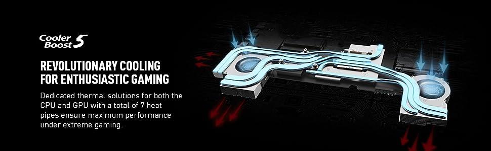 Cooler Boost 5 technology