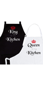 him and her aprons