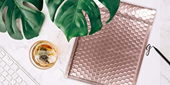 ROSE GOLD BUBBLE MAILER