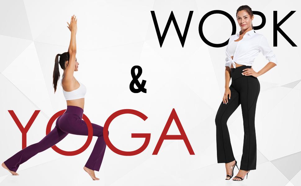 bootcut yoga tall long pants