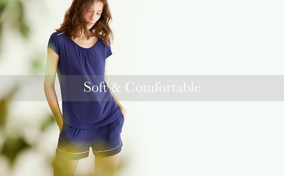 girls short sleeve pajamas bamboo pjs women