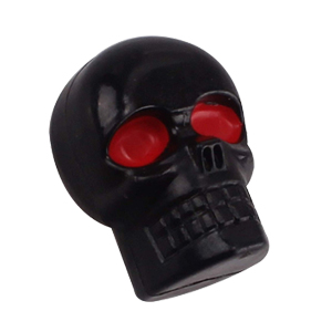 Skull License Plate Bolts