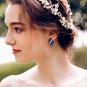 bridal earrings for bride