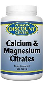 calcium magnesium citrates