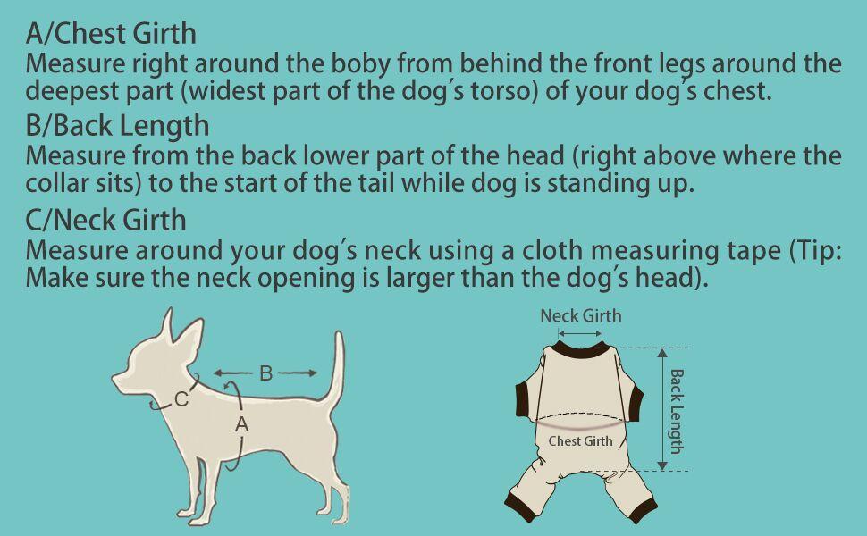 Pet Measuring Guide