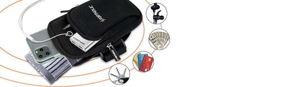 Sportarmband Armtasche