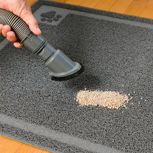 vacuum litter mat
