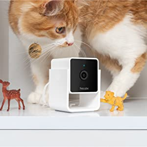 Flashandfocus.com fb4164ef-4b26-479f-96dc-86edeafc6a1b.__CR0,0,1360,1360_PT0_SX300_V1___ Petcube [New 2020] Cam Pet Monitoring Camera with Built-in Vet Chat for Cats & Dogs, Security Camera with 1080p HD Video…
