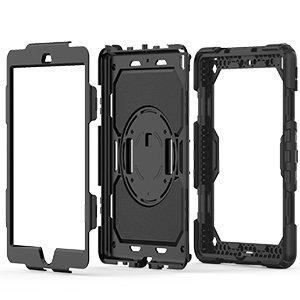 iPad 7th Generation Case Hybrid Three Layers Armor Case