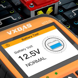 VXDAS NT510 Escáner OBD2 profesional Lector de códigos de ...
