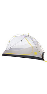 solo one person backpacking tent